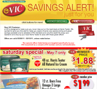 e-VIC Deals May 6th – 10th