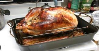 frozen turkey? no problem
